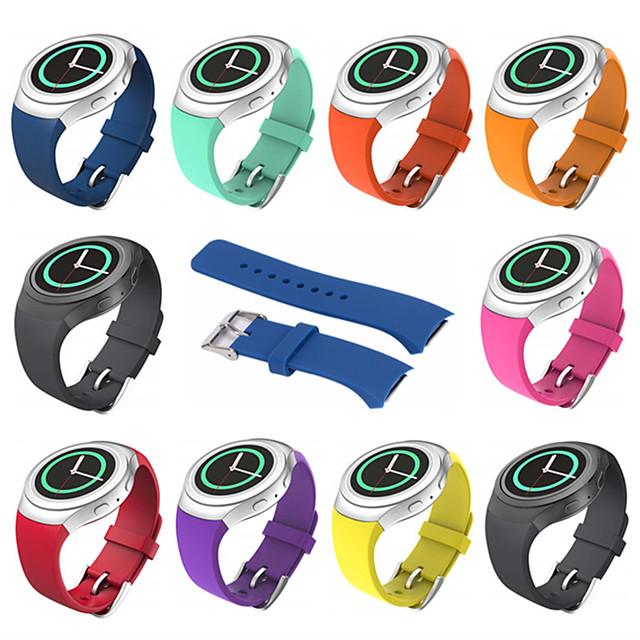 Pulseiras de Relógio para Gear S2 Samsung Galaxy Pulseira Esportiva Silicone Tira de Pulso