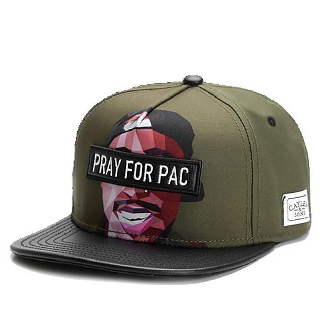 أخضر داكن قبعة البيسبول لون سادة رجالي بوليستر