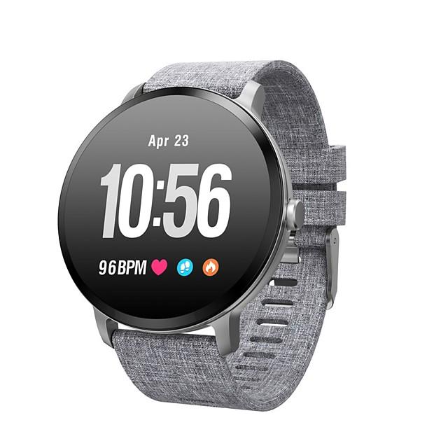 V11 للجنسين سوار الذكية Android iOS بلوتوث GPS رياضات ضد الماء رصد معدل ضربات القلب أصفر فاتح عداد الخطى تذكرة بالاتصال متتبع النشاط متتبع النوم تذكير المستقرة / ساعة منبهة / حساس الجاذبية