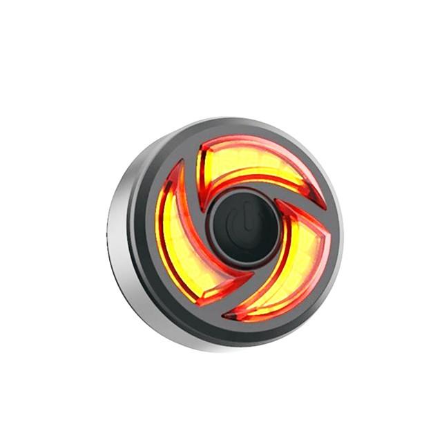 LED Eclairage de Velo Eclairage de Vélo Arrière Eclairage sécurité / feu clignotant velo LED VTT Vélo tout terrain Vélo Cyclisme Imperméable Induction intelligente Portable Professionnel Lithium-ion