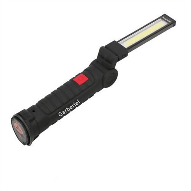 Lampes Torches LED LED LED Émetteurs 1 Mode d'Eclairage Portable Camping / Randonnée / Spéléologie Usage quotidien Cyclisme Noir