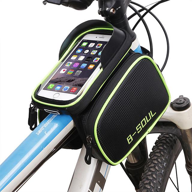 Sac de téléphone portable Sac Cadre Velo 6.2 pouce Ecran tactile Etanche Cyclisme pour Cyclisme iPhone X iPhone XR Bleu Vert Rouge Activités Extérieures / iPhone XS / iPhone XS Max