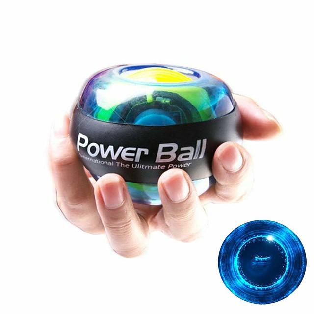 Powerball Rotore giroscopico adduttori 7,5 cm Diametro Gomma da cancellare Con LED Indicato per i polsi Allevia lo stress Terapia della mano Giroscopio allenamento polso Esercizi di fitness