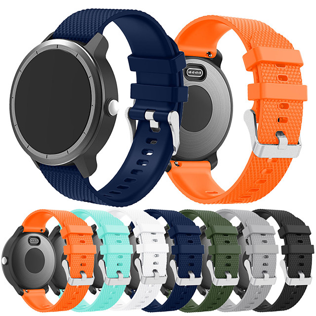 smartwatch الفرقة ل vivoactive 3 الموسيقى / vivoactive 3 / vivomove غارمين الرياضة الفرقة أزياء لينة سيليكون حزام المعصم