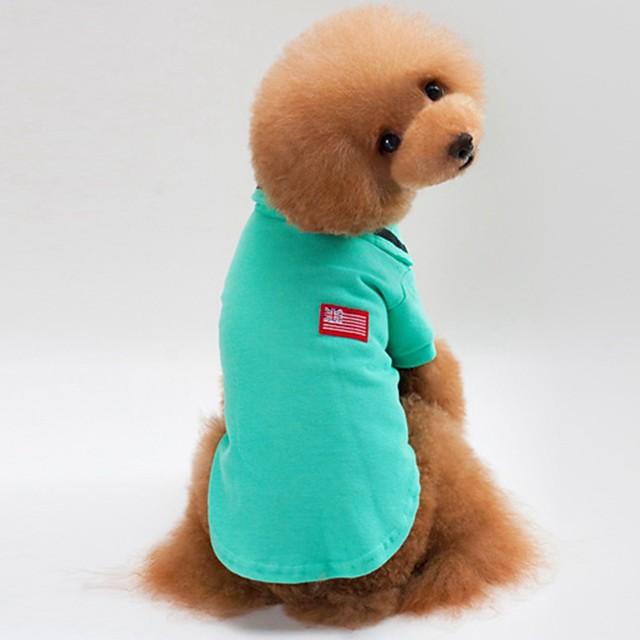 كلاب قطط المعاطف البلوزات كنزة لون سادة أسلوب بسيط عارضة / رياضي الأماكن المفتوحة ملابس الكلاب ملابس الجرو ملابس الكلب أصفر أخضر رمادي كوستيوم للفتاة والفتى الكلب قطن S M L XL XXL