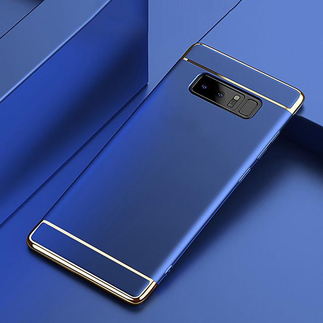 Кейс для Назначение SSamsung Galaxy Note 9 / Note 8 Покрытие Кейс на заднюю панель Однотонный Твердый ПК
