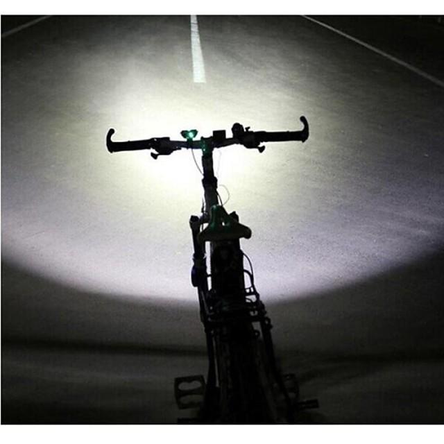 LS070 Frontale Lumini de Bicicletă Becul farurilor Rezistent la apă Reîncărcabil 5000/2500 lm LED 2 emițători cu Încărcător Rezistent la apă Reîncărcabil Rezistent la Impact Camping / Cățărare