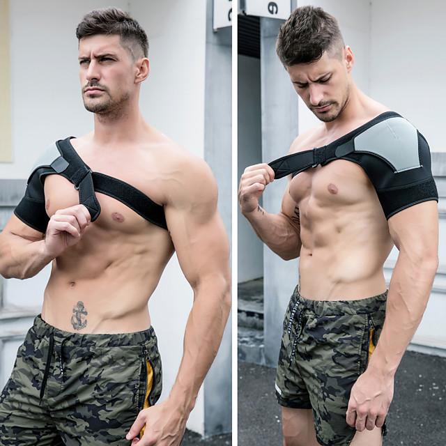 Material de Protecção Órtese para Ombro Neoprene Durável Respirável Fortalecimento dos Ombros Exercício e Atividade Física Levantamento de peso Exercite-se Para Masculino Feminino ombro