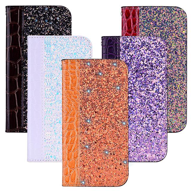 Coque Pour Motorola MOTO G6 / Moto G6 Play / Moto G5s Plus Porte Carte / Avec Support / Clapet Coque Intégrale Brillant Dur faux cuir