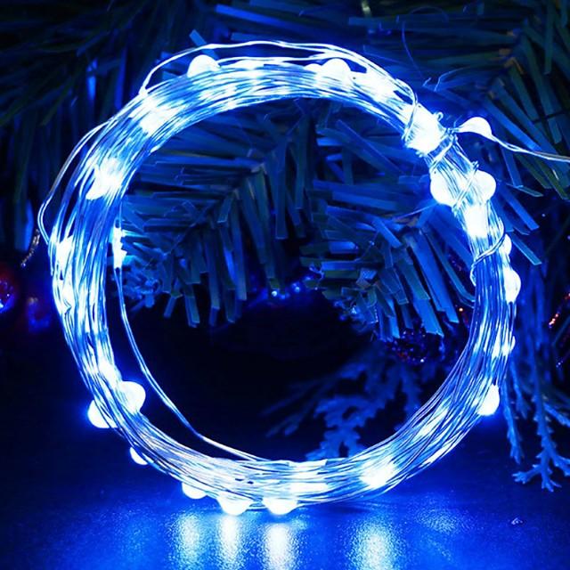 3m 30 بقيادة قطاع ضوء مصباح مضيء لحفلات الزفاف حفلة عيد الميلاد عيد الميلاد السنة الجديدة