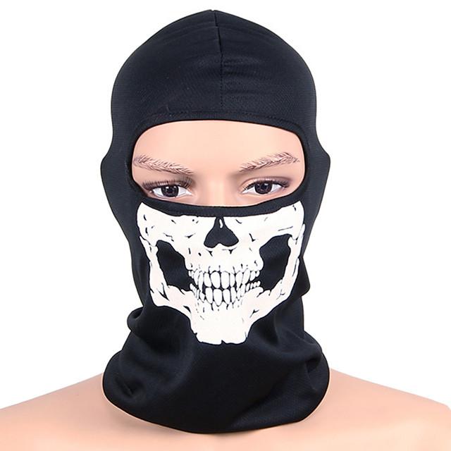 WEST BIKING® cagule Face Mask Cranii Keep Warm Rezistent la Vânt Uscare rapidă Rezistent la Ultraviolete Rezistent la Praf Bicicletă / Ciclism Negru și Alb Iarnă pentru Bărbați Pentru femei Adulți