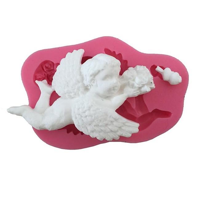 1 buc silicagel Adorabil #D Bucătărie Gadget creativ Tort Pentru ustensile de gătit Materiale pentru torturi Instrumente de coacere