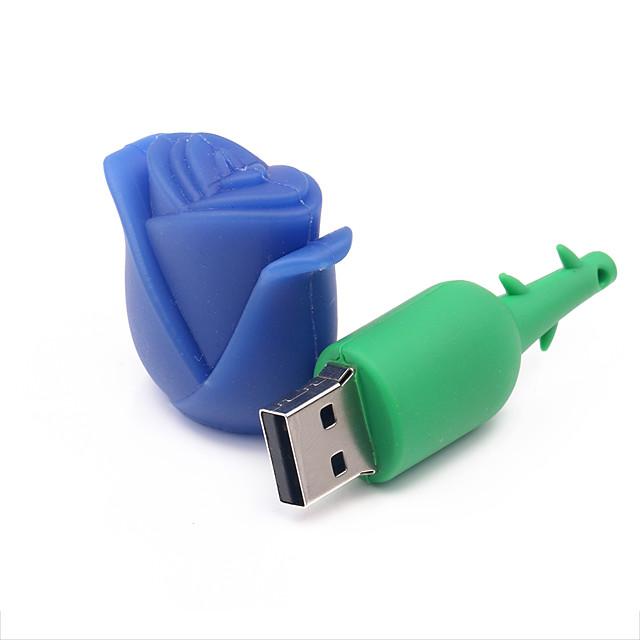 8G Роза Shaped USB Flash Drive