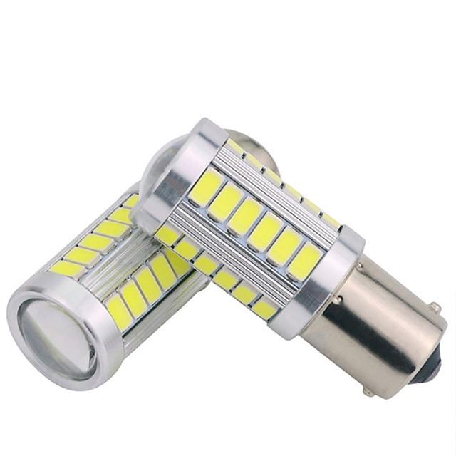Samochód LED Światła boczne 1156 Żarówki 300 lm SMD 5630 5 W 33 Na General Motors Univerzál 2 szto.