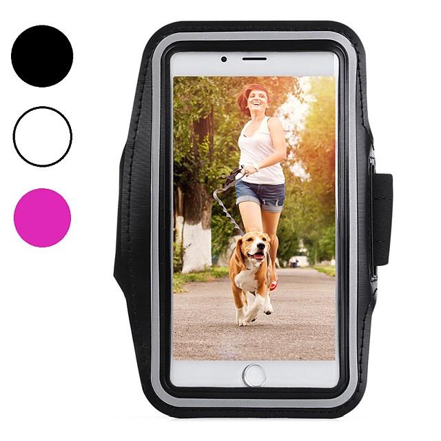 fodral skal Till Apple iPhone XS iPhone XR iPhone XS Max Sportarmband Stötsäker Dammtät Armband Enfärgad Mjukt Kolfiber