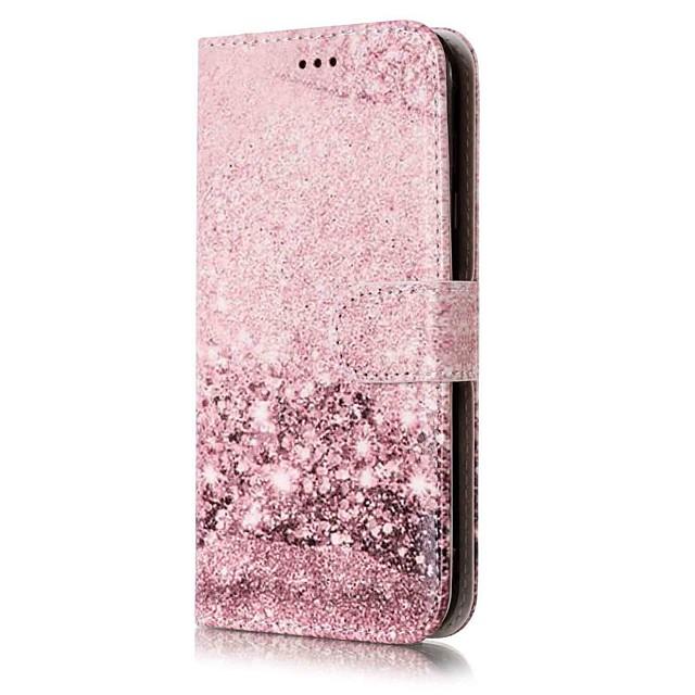 Coque Pour Samsung Galaxy J7 (2016) / J7 / J5 (2017) Portefeuille / Porte Carte / Avec Support Coque Intégrale Marbre Dur faux cuir