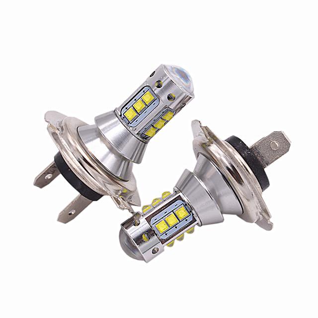 2pcs h4 far de mașină faruri de ceață auto h7 h11 h8 hb4 h1 h3 h3 9005 hb3 becuri auto auto 50w leduri de înaltă performanță led de 5000 lm faruri pentru universal toate modelele