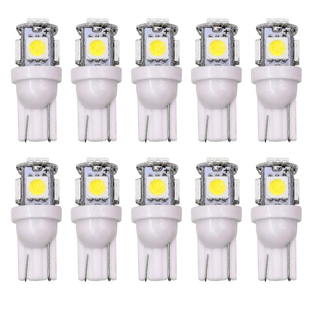 SO.K Auto LED sisävalot T10 Lamput 160 lm 5 W Käyttötarkoitus Universaali Kaikki mallit Kaikki vuodet 10pcs