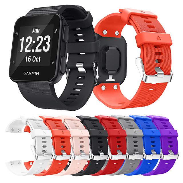 สายนาฬิกา สำหรับ Forerunner 35 Garmin สายยางสำหรับเส้นกีฬา Plastic สายห้อยข้อมือ