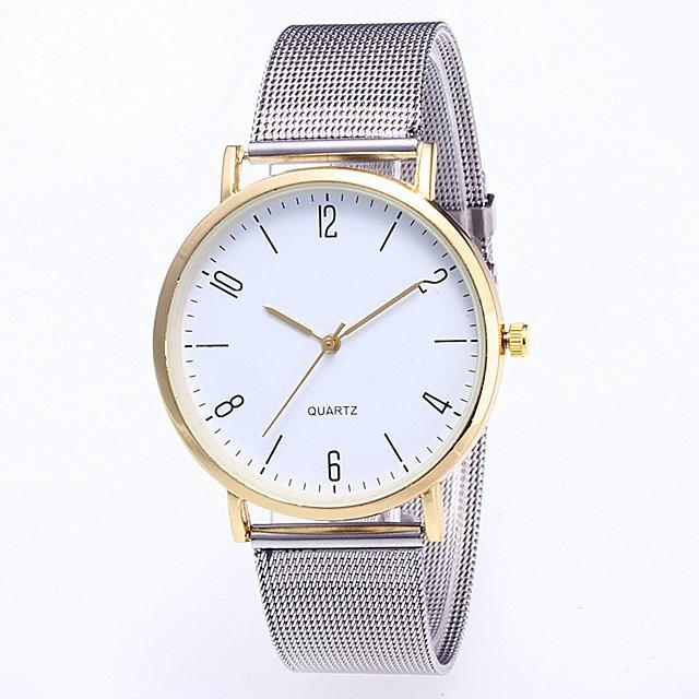 Pentru femei Ceas de Mână Quartz Elegant Cronograf Analog Roz auriu Negru Auriu / Un an / Oțel inoxidabil / Un an / SSUO 377