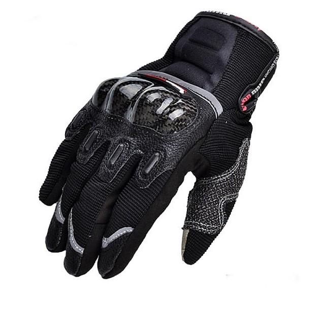 Deget Întreg Toate Mănuși Motociclete Fibra de carbon / Nailon / silicagel Rezistent la uzură / Non-alunecare