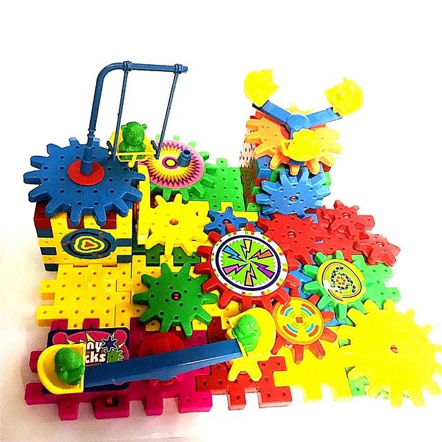 Blocs de Construction Ecole Motif géométrique Petit Design Robot Enfant Adolescent Préscolaire Tous Garçon Fille Jouet Cadeau