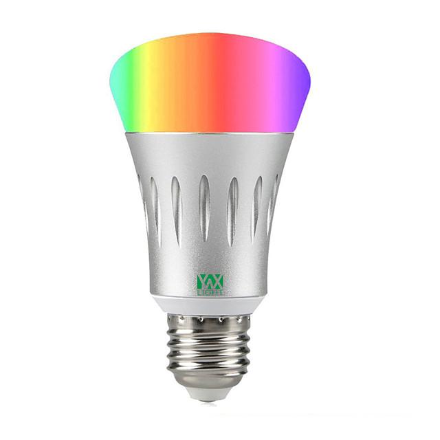 YWXLIGHT® 1pc 7 W LED Akıllı Ampuller 600 lm A60(A19) 22 LED Boncuklar SMD 2835 RGB Beyaz 85-265 V / 1 parça