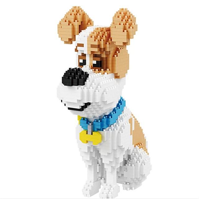 Bouwblokken Educatief speelgoed Bouwset speelgoed 1 pcs Honden Creatief verenigbaar PP+ABS Legoing Dieren Decompressie Speelgoed Allemaal Jongens Voor meisjes Speeltjes Geschenk / Kinderen / Kinderen