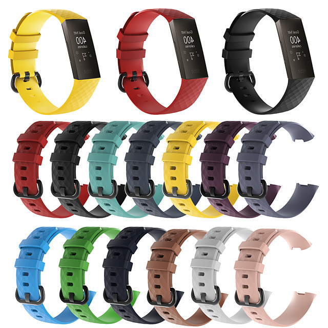 watch band for fitbit charge 3 fitbit sport band silikon armbånd