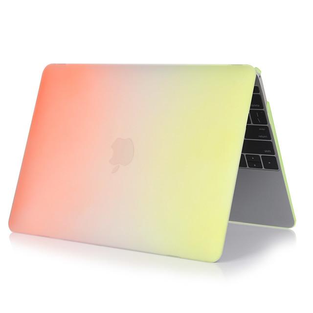 MacBook Kılıf Renkli Gradyan PVC için MacBook Pro, 13-inç / Yeni MacBook Pro 13