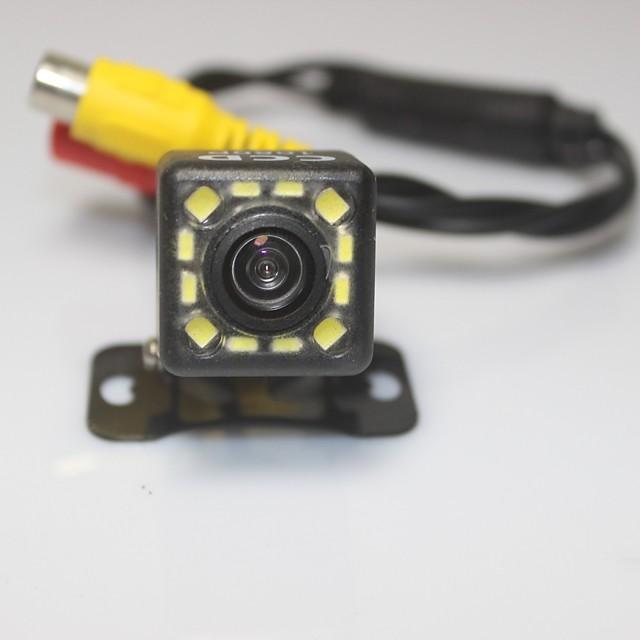 1080p CCD Telecamera posteriore Impermeabile / Visione notturna per Auto