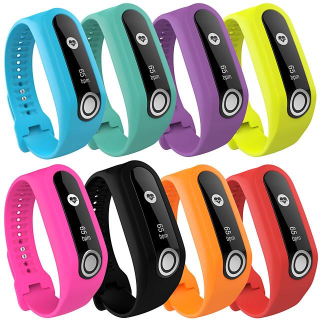 Cinturino per orologio  per TomTom Touch TomTom Cinturino sportivo Silicone Custodia con cinturino a strappo