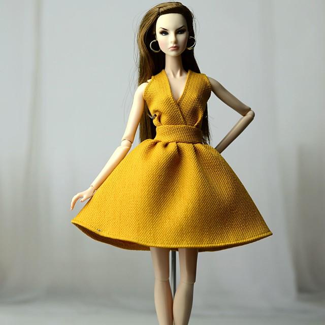 Accessoires de poupée Vêtements de Poupées Robe de poupée Robe de mariée Fête / Soirée Robes Mariage Robe de Soirée Tulle Dentelle Tissu Tissu de coton Non-Tissé Coton Pour poupée de 11,5 pouces