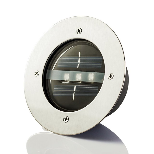 Solar Power Runda încastrat Deck Dock modalitate Garden LED