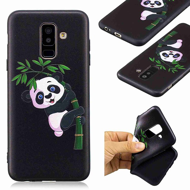 Coque Pour Samsung Galaxy A6 (2018) / A6+ (2018) / A3 (2017) Motif Coque Panda Flexible TPU
