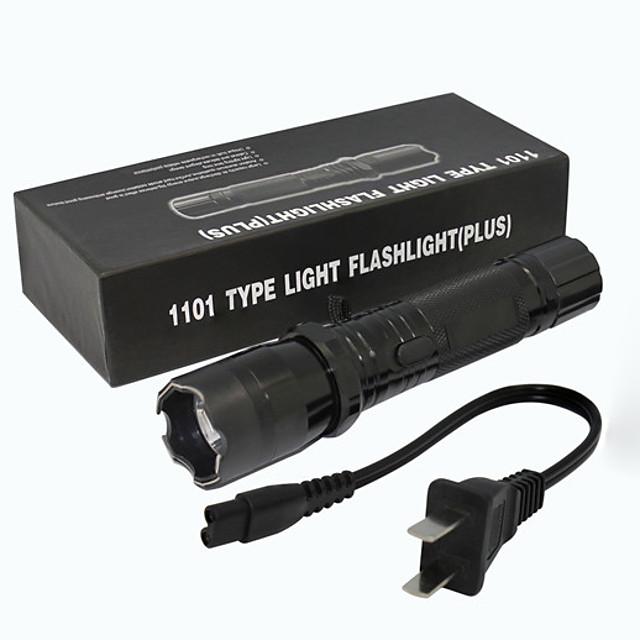 ZQ-X947 Lampes Torches LED 1501   1501 lm LED Émetteurs Manuel Mode d'Eclairage Transport Facile Poids Léger Prise EU Prise AU Prise GB Prise US Noir