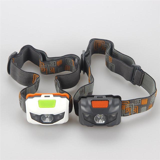 Kafa Lambaları Taktik Su Geçirmez 500 lm LED LED 3 Emitörler 4.0 Işıtma Modu Taktik Su Geçirmez Şarj Edilebilir Darbeye Dayanıklı Strike Bezel Acil Kamp / Yürüyüş / Mağaracılık Günlük Kullanım
