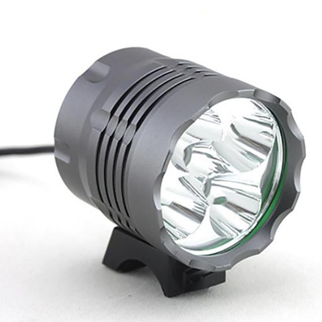 Frontale Lumini de Bicicletă Becul farurilor 4000 lm LED LED 5 emițători 3 Mod Zbor Camping / Cățărare / Speologie Utilizare Zilnică Ciclism / Aliaj de Aluminiu