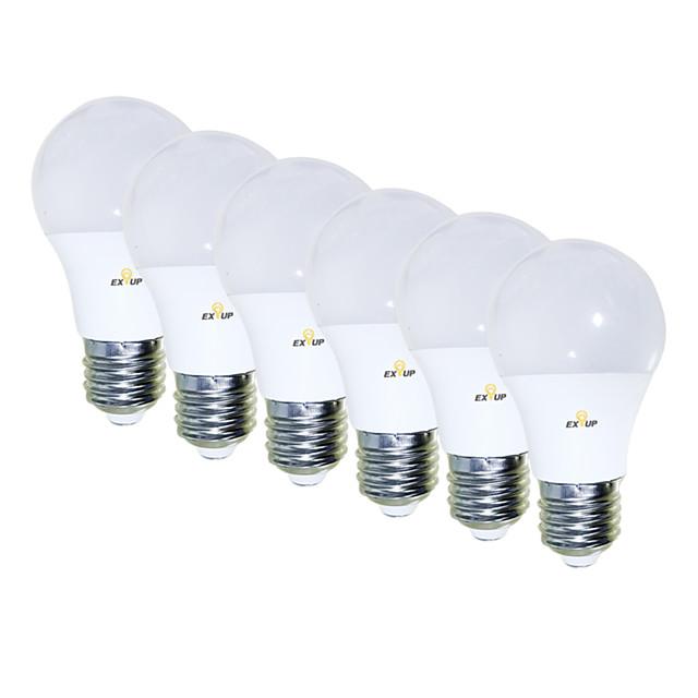 6pcs 5 W Ampoules Globe LED 450 lm E26 / E27 15 Perles LED SMD 2835 Créatif Adorable Cool Blanc Chaud 85-265 V