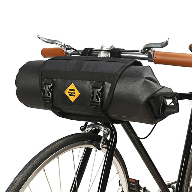 B-SOUL 12 L Sacca da manubrio bici Ompermeabile Portatile Indossabile Borsa da bici TPU Pelle Terylene Marsupio da bici Borsa da bici Ciclismo Attività all'aperto Camminata sportiva