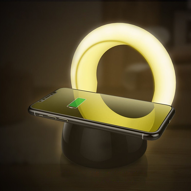 Smart Night Light Chargeurs Sans Fil 3 modes Transport Facile DC alimenté 1pc