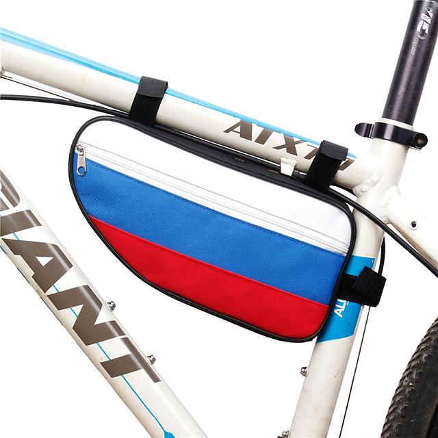 B-SOUL 2 L حقيبة دراجة الإطار مثلث الإطار الإطار المحمول يمكن ارتداؤها مضاعف حقيبة الدراجة تيريليني حقيبة الدراجة حقيبة الدراجة أخضر للجنسين الدراجة