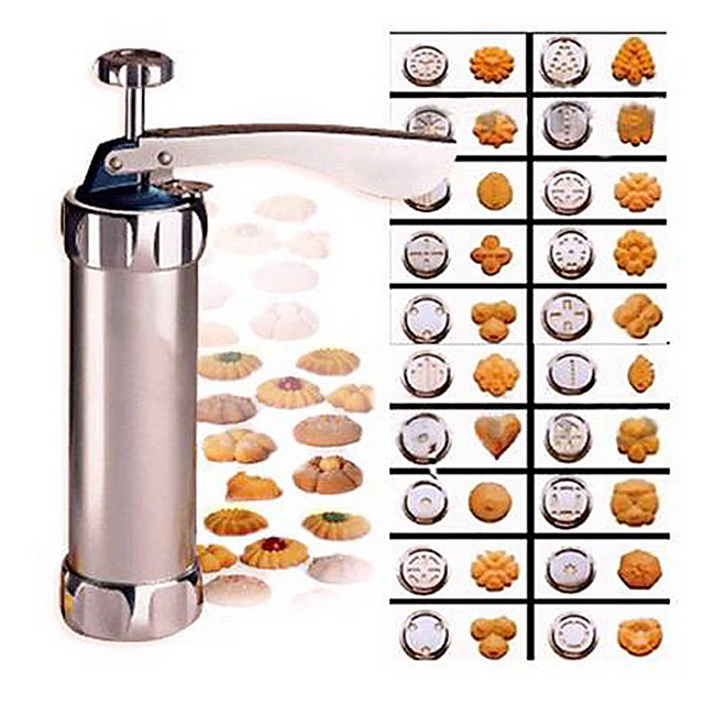 cookie-uri prese de tăiere instrumente de copt cookie biscuiți mașină de presă coacere