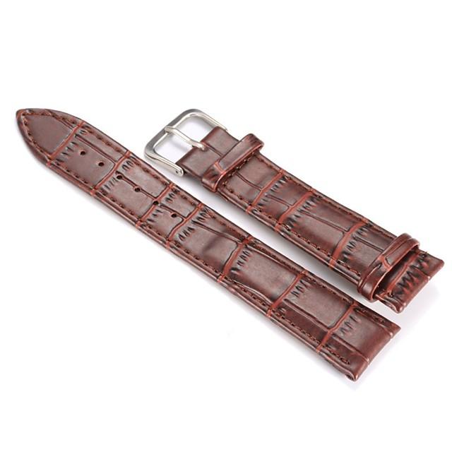 Umjetna koža Pogledajte Band Crna / Smeđa 19cm / 7,48 inča 2cm / 0.8 Palac