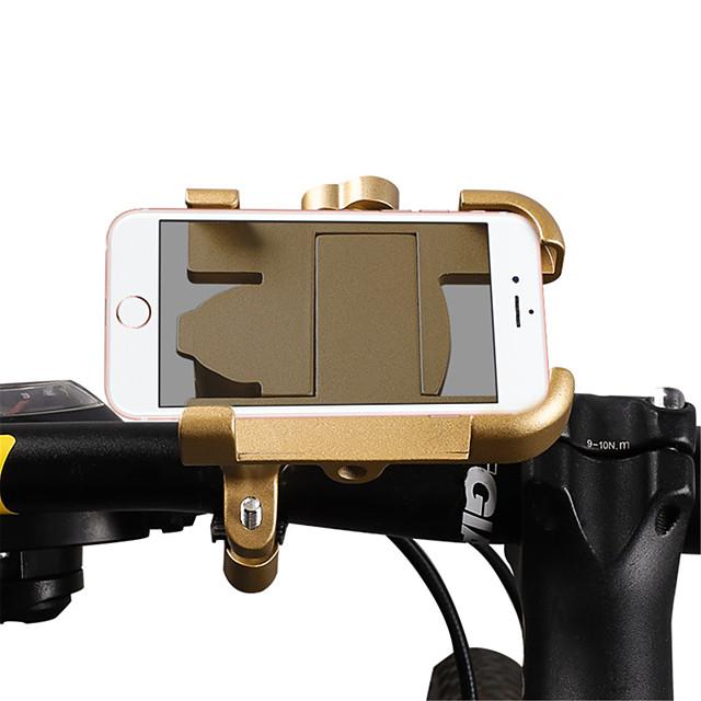 WEST BIKING® Monture de Téléphone Pour Vélo Anti-dérapant Facile à Installer Anti-Chocs pour Vélo de Route Vélo tout terrain / VTT Alliage d'aluminium iPhone X iPhone XS iPhone XR Cyclisme Argent