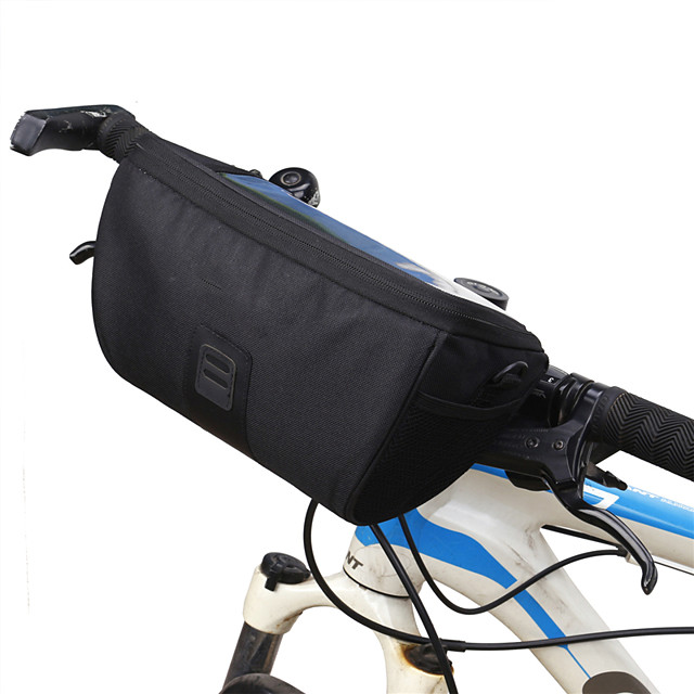 B-SOUL 3.5 L Sacoche de Guidon de Vélo Portable Vestimentaire Durable Sac de Vélo Térylène Sac de Cyclisme Sacoche de Vélo Cyclisme Activités Extérieures Vélo Cyclisme