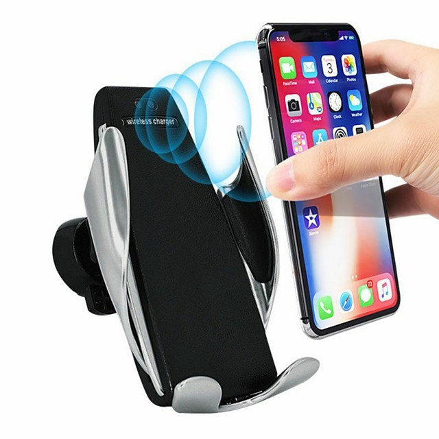 Qi Wireless Charger Bracket Smart Automatic Induction Stand Car Air Vent Phone Holder For iPhone XS XR X Max Samsung S10 S9 S8 Plus