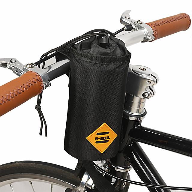 B-SOUL 1 L Sacoche de Guidon de Vélo Portable Vestimentaire Durable Sac de Vélo Térylène Sac de Cyclisme Sacoche de Vélo Cyclisme Activités Extérieures Vélo Cyclisme