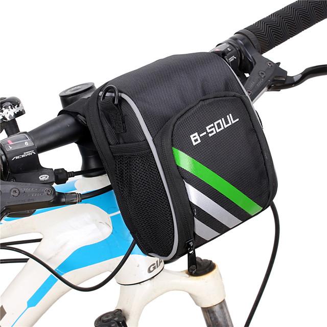 B-SOUL 1.2 L Sacoche de Guidon de Vélo Portable Vestimentaire Durable Sac de Vélo Nylon Sac de Cyclisme Sacoche de Vélo Cyclisme Activités Extérieures Vélo Cyclisme