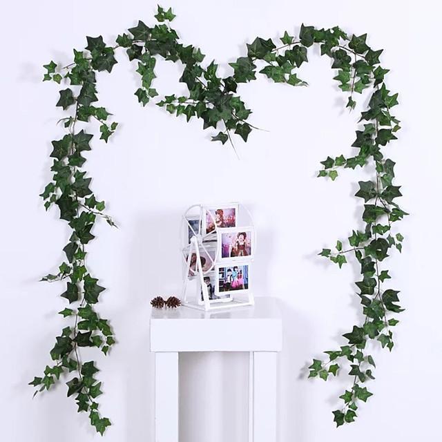 konstgjorda växter plast traditionell / klassisk vinstockar blomma vinstockar 1 bukett 180cm